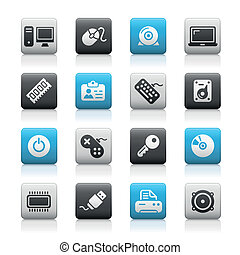 Computer & Devices / Matte Buttons - Matte buttons set for...