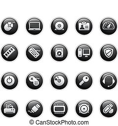 Computer & Devices  - Vector buttons.