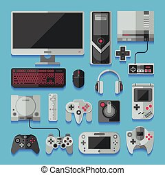 Computer, digital video online game console, game tools...