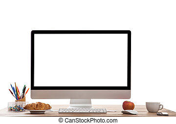 Computer display.