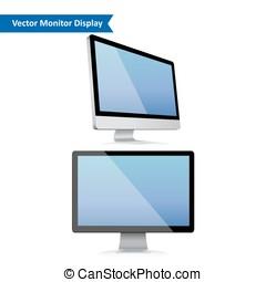 Computer display illustration