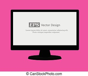 Computer Display Vector