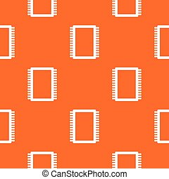 Computer electronic circuit board pattern seamless