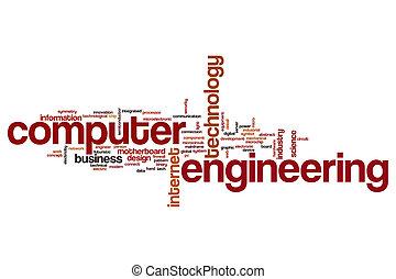 Computer engineering word cloud