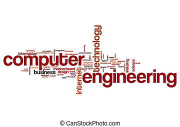Computer engineering word cloud