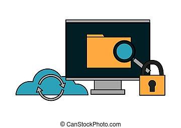 computer file cloud storage security