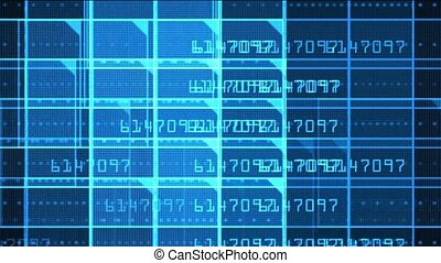 computer finance file & number,stock market analysis software.