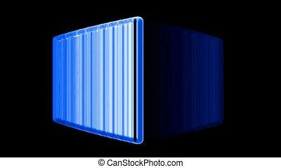 computer firewall,metal cubes