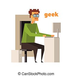 Redhead Woman And Sunglasses Stock Illustration