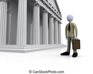 Lawyer - Computer Gegerated 3D Image - Lawyer .