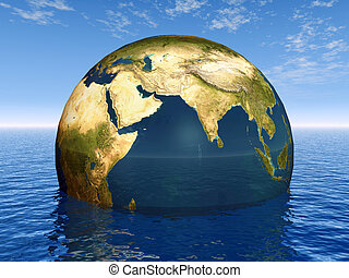 Globe of the Earth