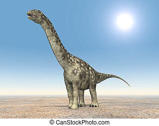Dinosaur Argentinosaurus