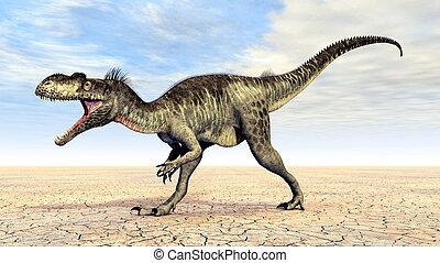 Dinosaur Megalosaurus