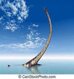 Plesiosaur Elasmosaurus