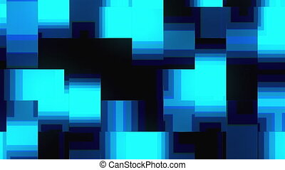 Computer generated abstract technology background. 3D ...