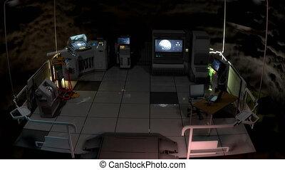 Secret underground command center V3.