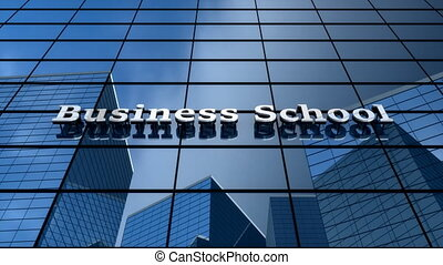 """Business school building - """"Computer generated, Business ..."""