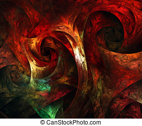 Computer generated fractal artwork for art and entertainment...