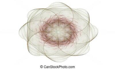 Computer generated fractal artwork for creative design, art...