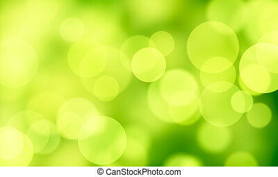 green abstract background circle li - computer generated...