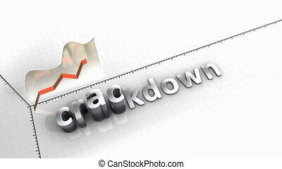 Growing chart Crackdown