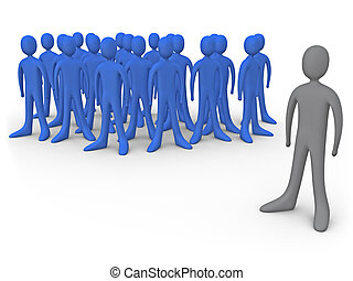 Be Different #2 - Computer generated image - Be Different...