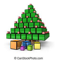 Box - Christmas Tree #1