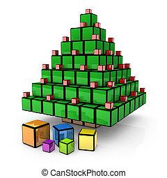 Box - Christmas Tree #2