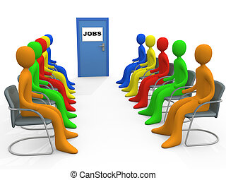 Job Application #1 - Computer generated image - Business -...