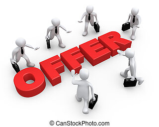 Business Offer - Computer Generated Image - Business Offer .