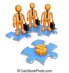 Cash Shortage - Computer Generated Image - Cash Shortage .