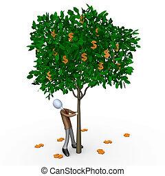 Computer generated image - Dollar Tree .
