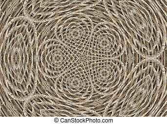 computer generated image, kaleidoscope effect