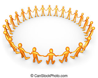 United People - Orange - Computer generated image - United...