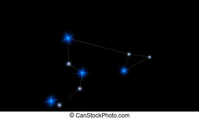 "Star constellation Leo. - ""Computer generated, Star ..."