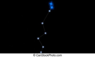 "Star constellation Lynx. - ""Computer generated, Star ..."