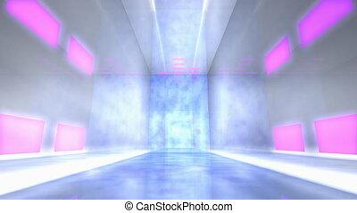"Virtual studio music stage set. - ""Computer generated, ..."