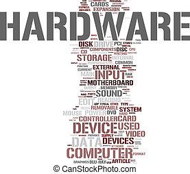 Computer Hardware  - Hardware word cloud