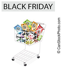 Computer Hardware in Black Friday Shopping Cart
