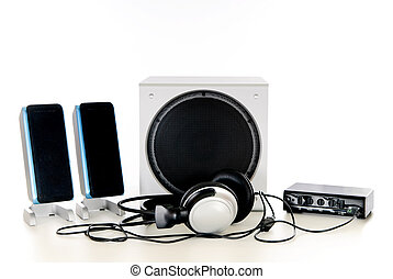 Hifi  Sound system 2.1