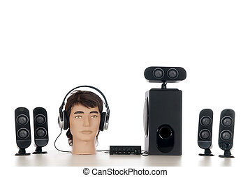 Hifi  Sound system 5.1
