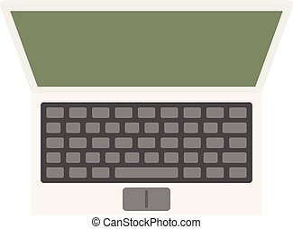 Computer icon, flat style