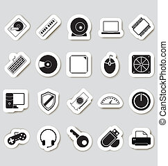 Computer icons stikers