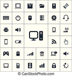 computer icons universal set