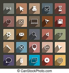 Computer Icons, vector illustration