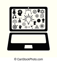 computer idea concept