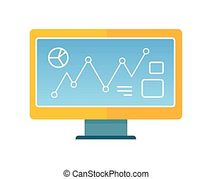 Computer Illustration in Flat Style Design.