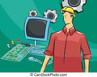 computer, ingegnere
