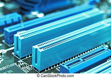 computer, interface, schakelaars