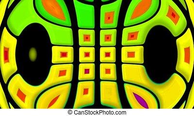 computer interface,deform square